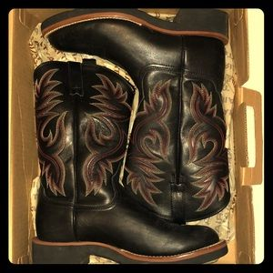 Black Ariat Western Boots